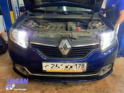 Лампы Renault Logan